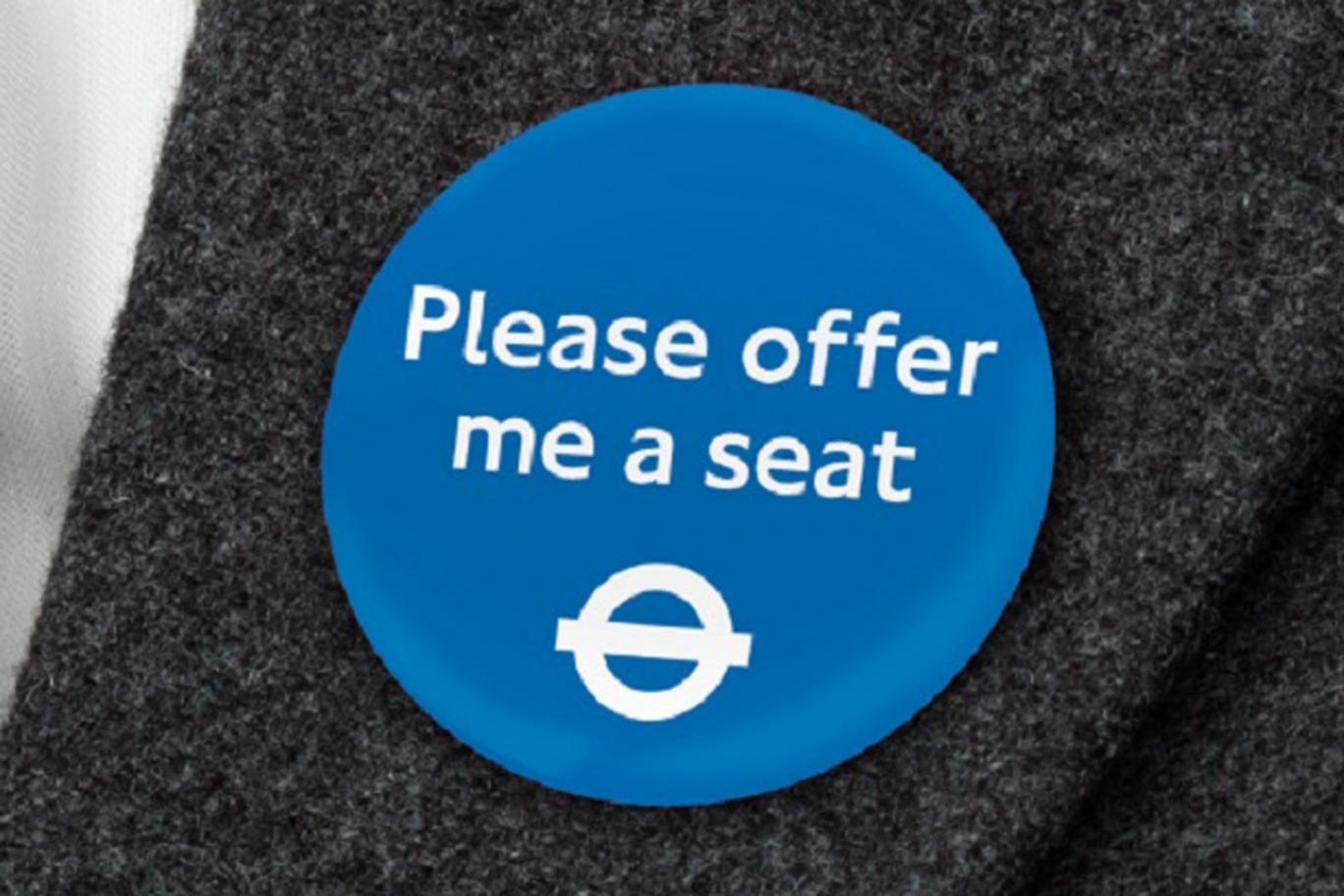TfL introduces new badges to help disabled passengers find seats