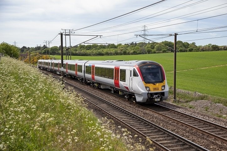 Greater Anglia new electric commuter trains testing continues
