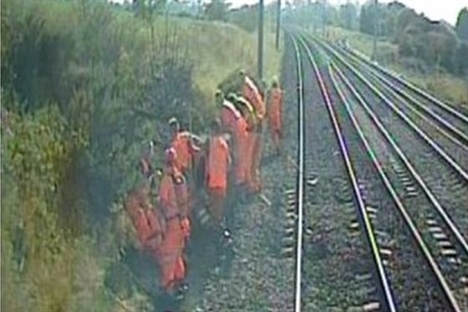 Lookout failure led to track workers' 100mph train near-miss