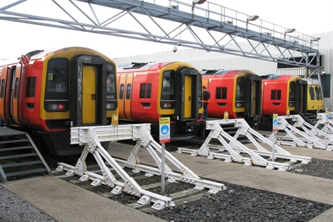 South West Trains pilots energy-saving technology