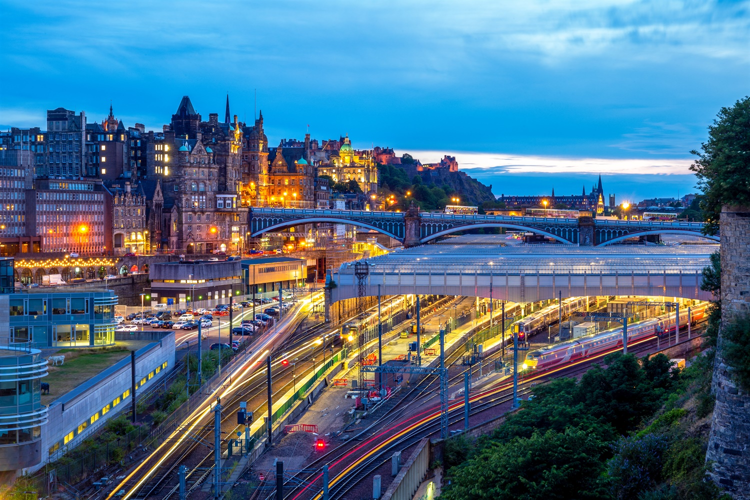 Major redevelopment plans for Edinburgh Waverley station unveiled