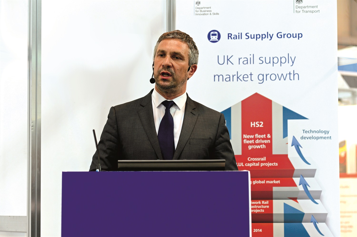 Rail supply group's call to arms at Railtex