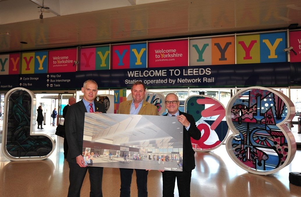 New transparent roof 'first of several' upgrades announced for Leeds station