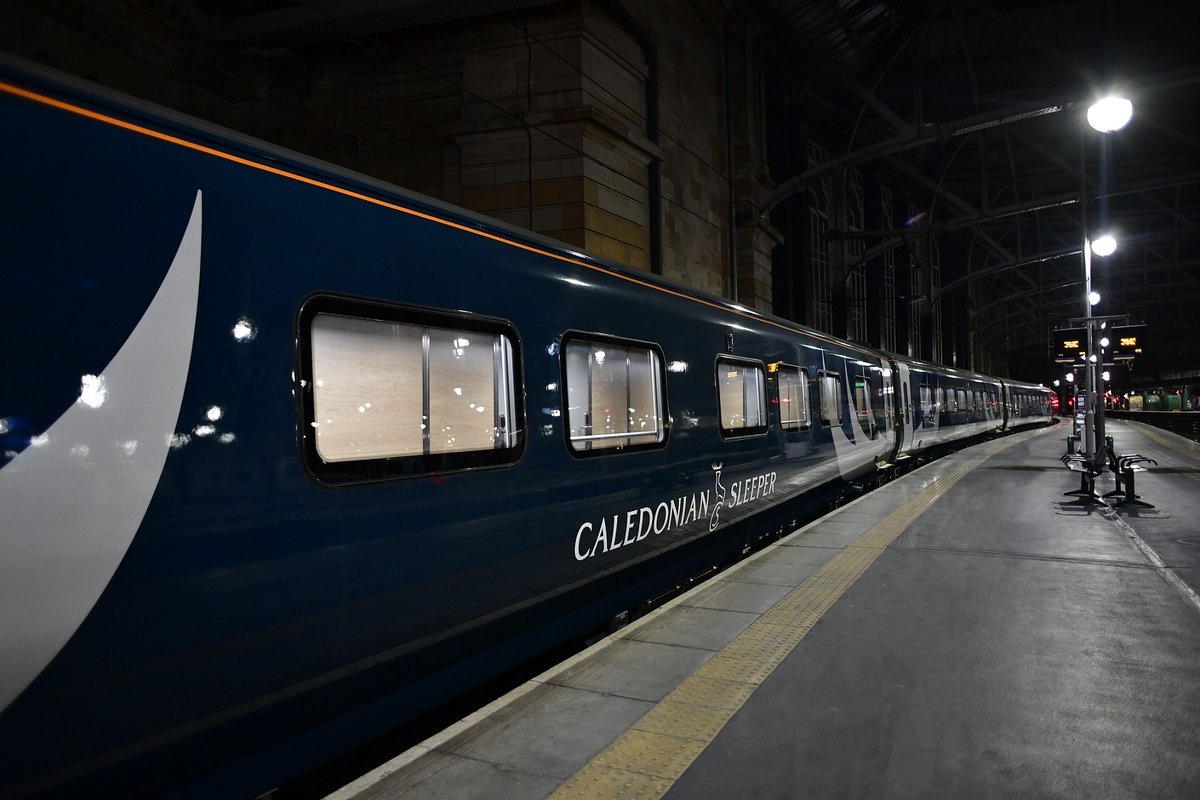 Caledonian Sleeper launches new £150m train fleet, first service over three hours late