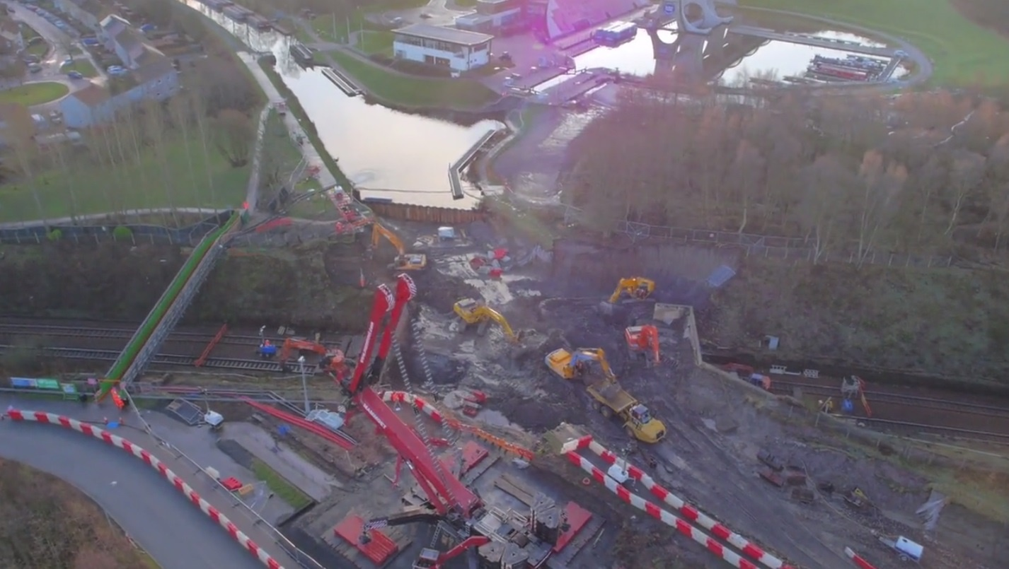 Network Rail completes aqueduct works at Carmuirs