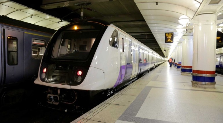 Crossrail train doors open onto tracks in fault at Stratford station