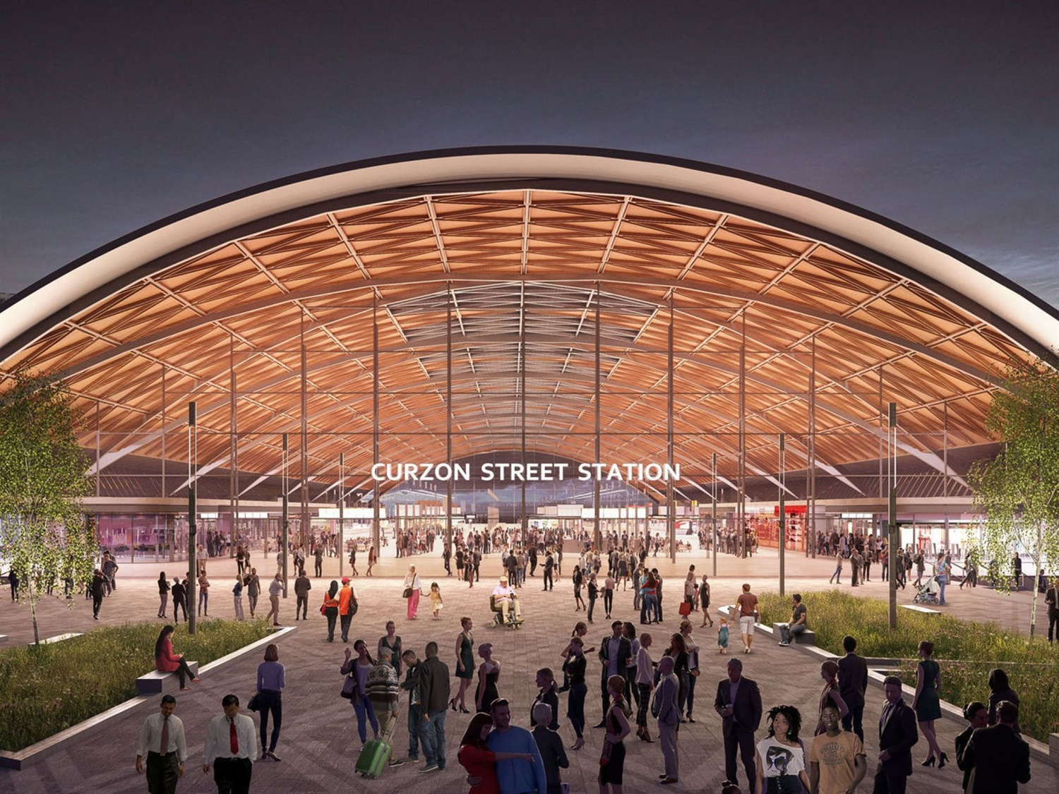 New images of Birmingham and Solihull's HS2 stations revealed