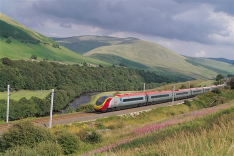 DfT extends West Coast rail contract to Virgin