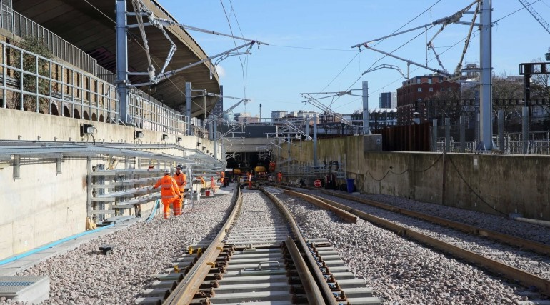 Crossrail engineers hit key track, signalling and infrastructure milestones