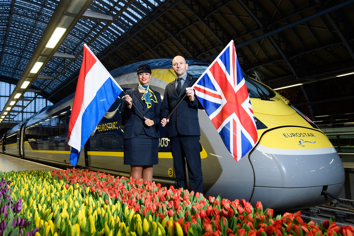 First direct London-Amsterdam service marks 'exciting new chapter' for Eurostar