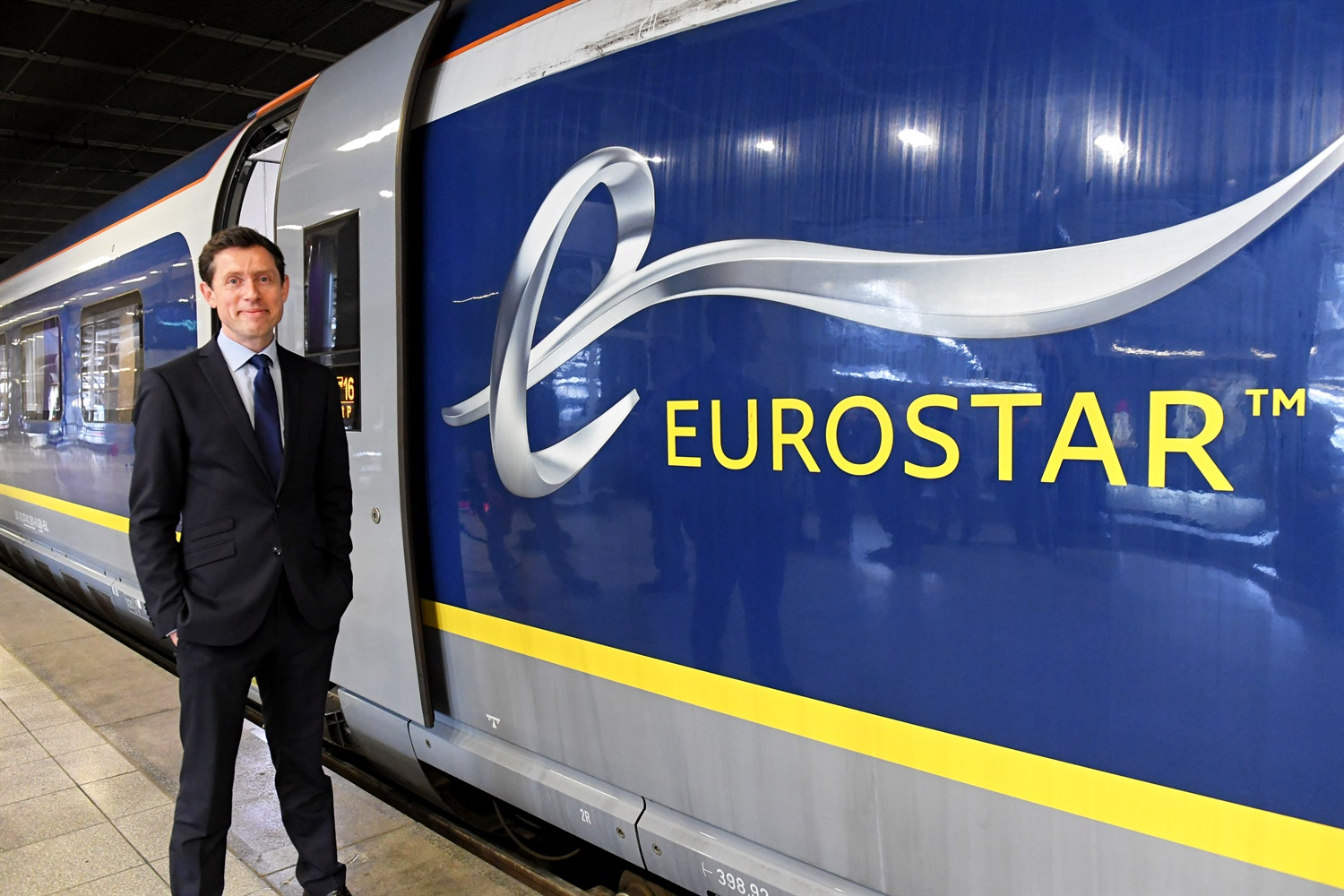 Eurostar introduces new e320 trains on London-Brussels route