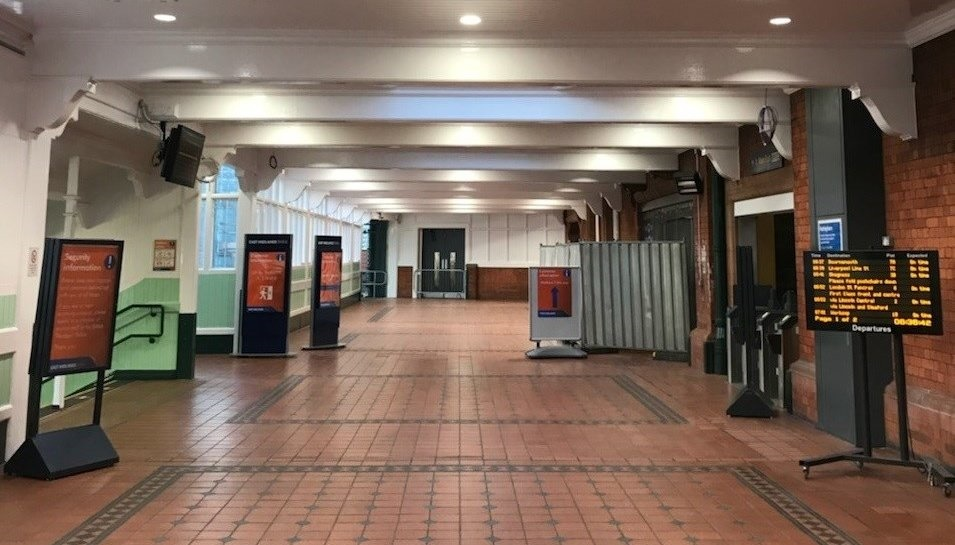 First stage of repairs to Nottingham station complete
