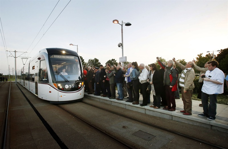 Edinburgh Trams finally in service