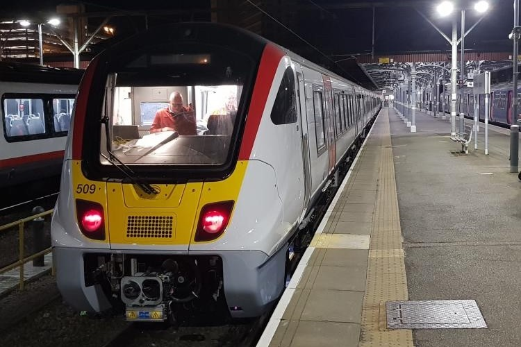 Greater Anglia's new electric trains complete test run