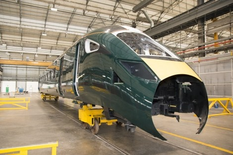 Hitachi Italy starts Class 802 bi-mode production for GWR