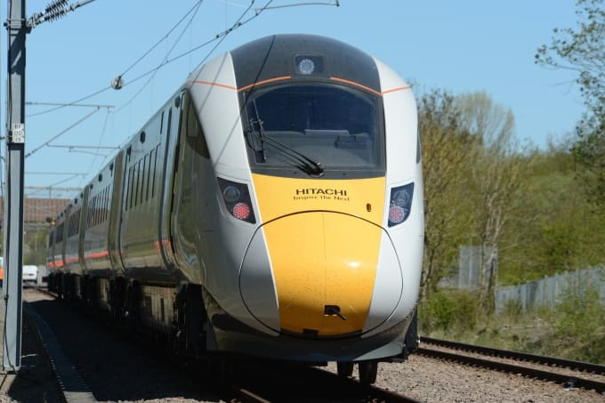 Hitachi Class 800s pass digital signalling testing
