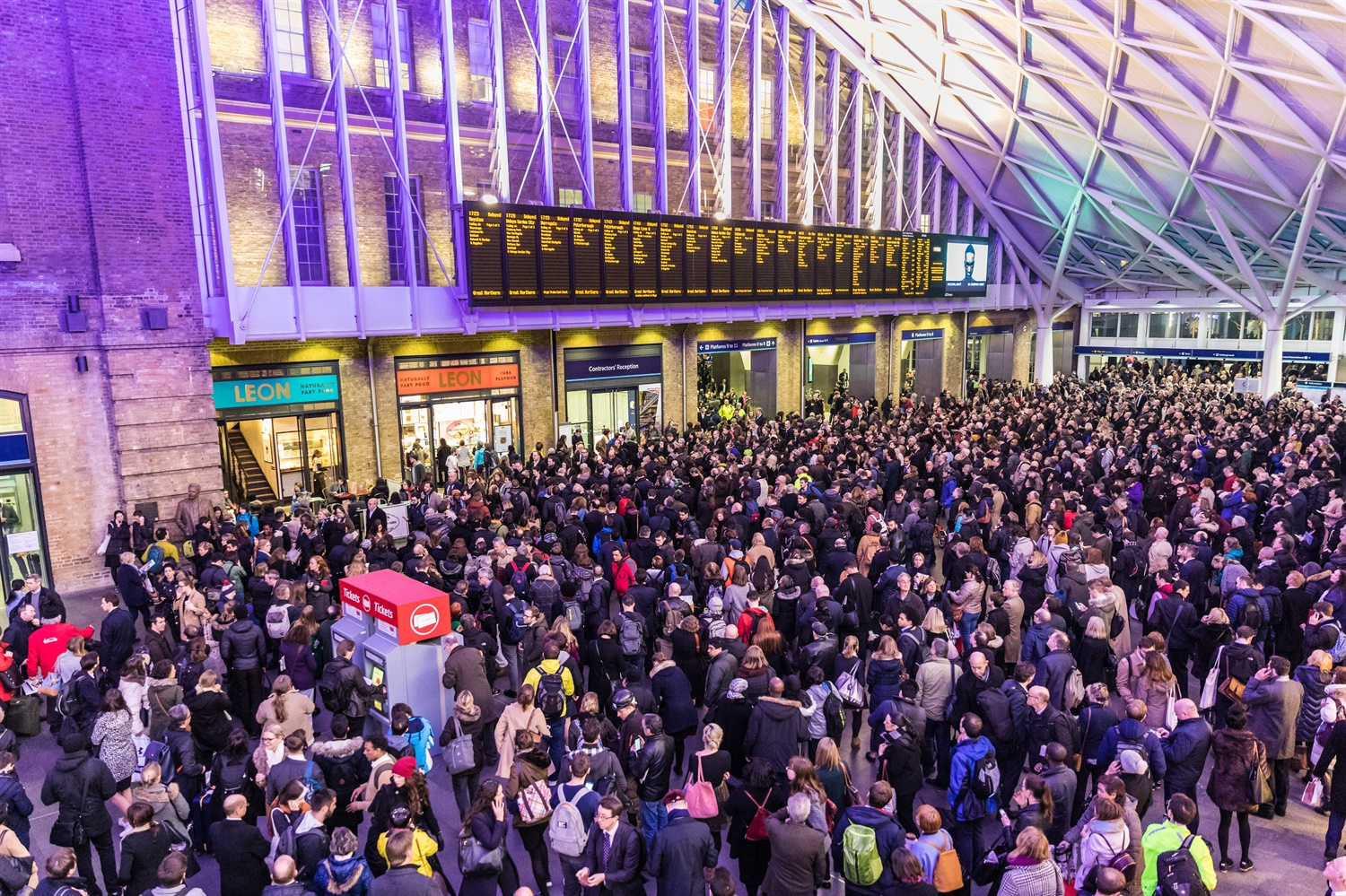 Rate of complaints hit six-year high for UK railway