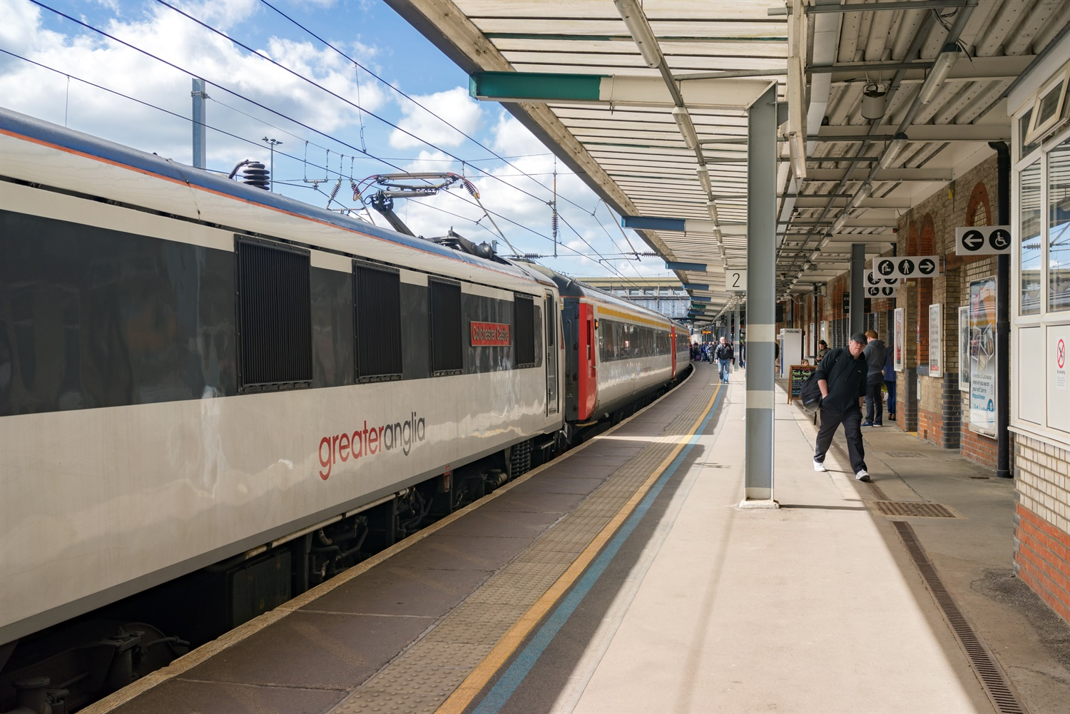 Greater Anglia employs extra Land Sheriffs to improve safety and security for passengers