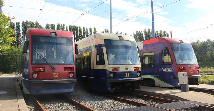Original Midlands Metro tram fleet to be auctioned off