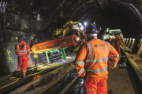 Strengthening the Haymarket tunnels