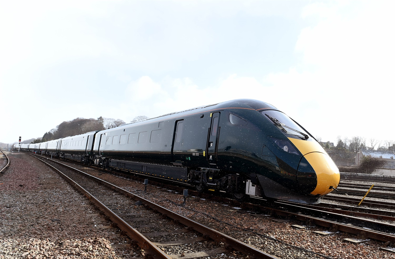 New Intercity Express train reaches Inverness depot for testing