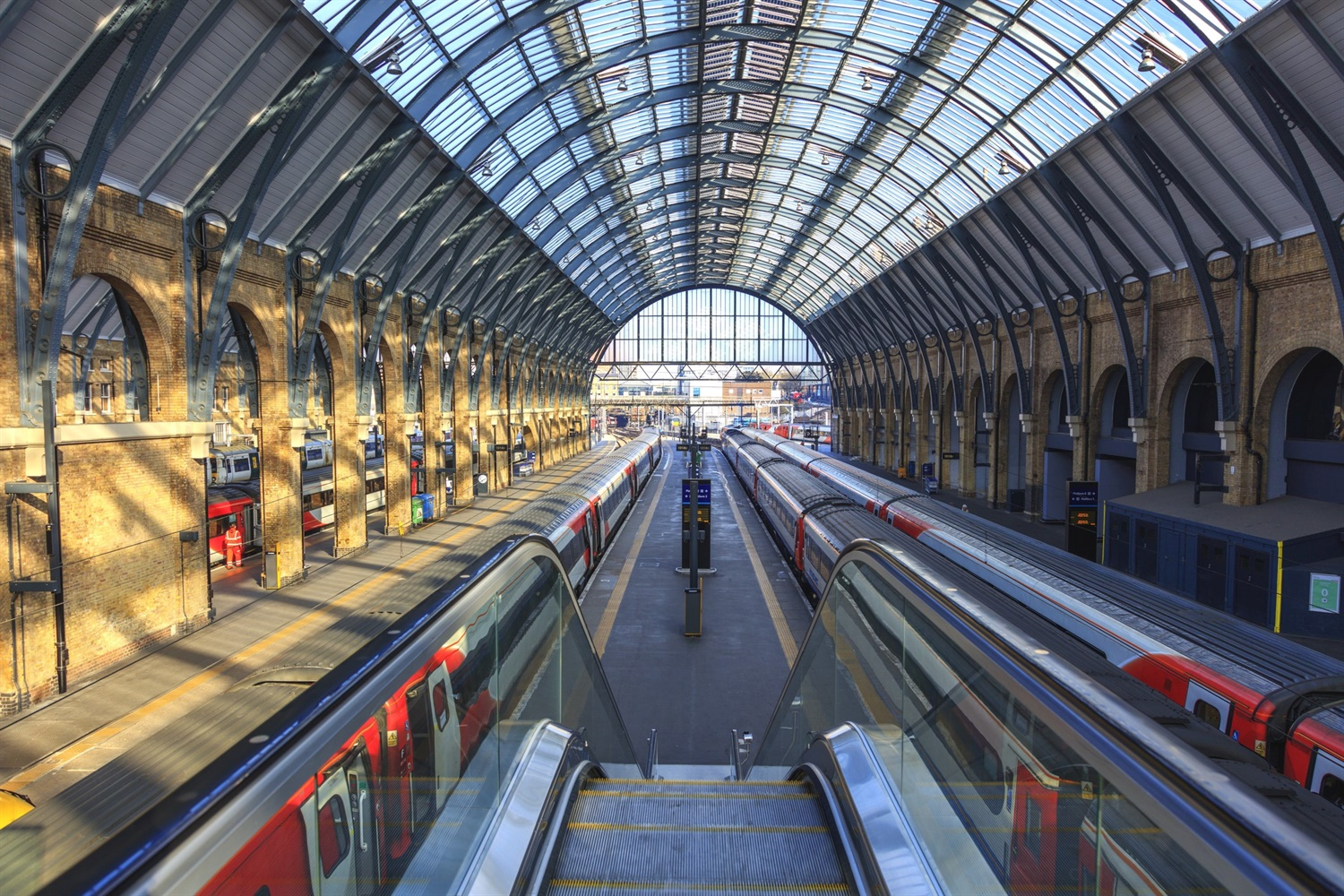 90% decrease in King's Cross station users