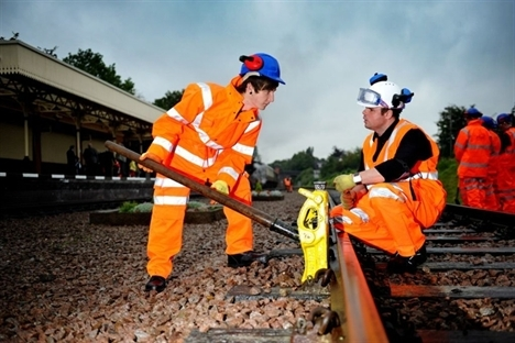 Leicester and York rail training academies opened