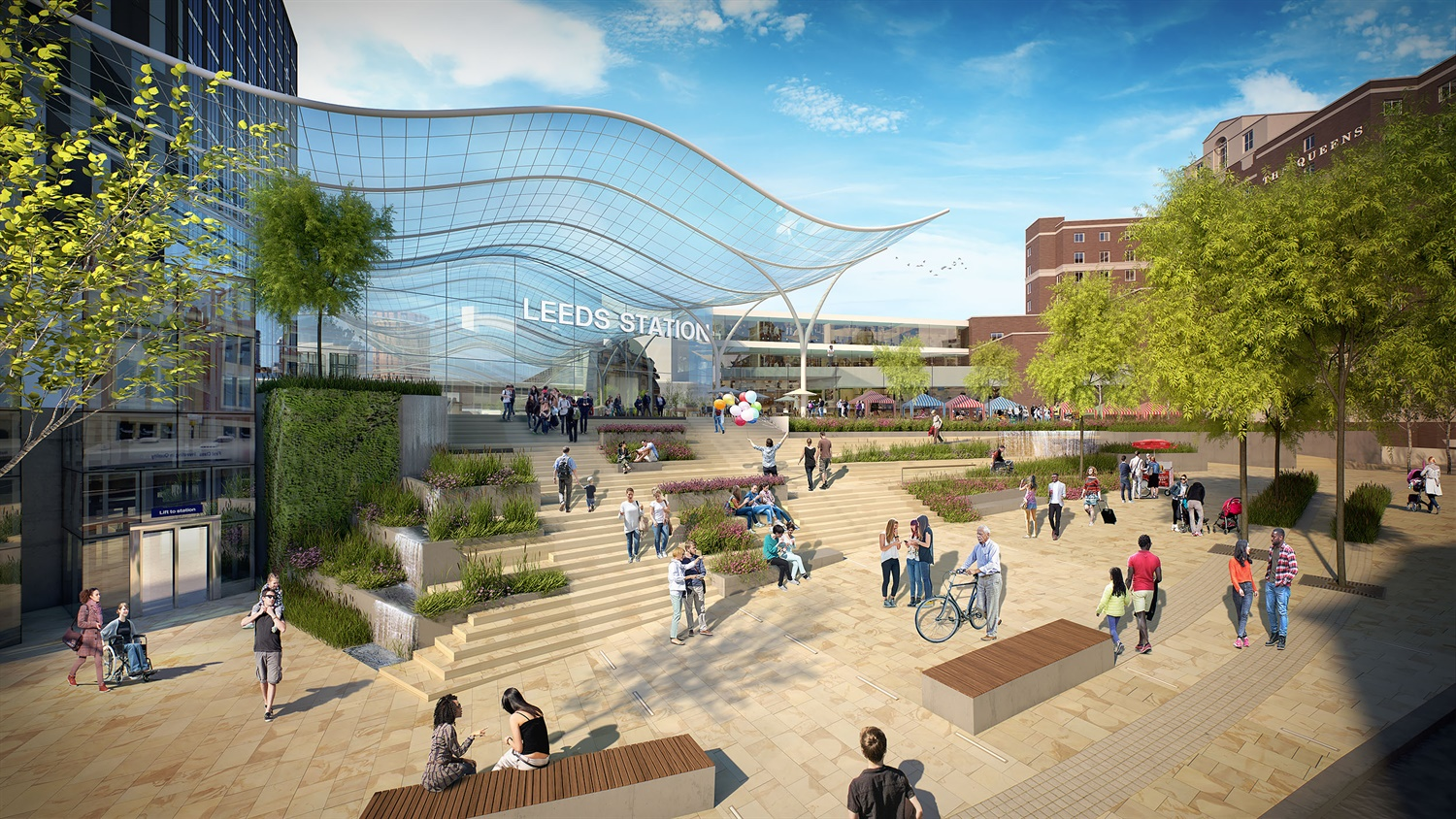 Leeds South Bank plans rubber-stamped, finalising £500m transformation of train station
