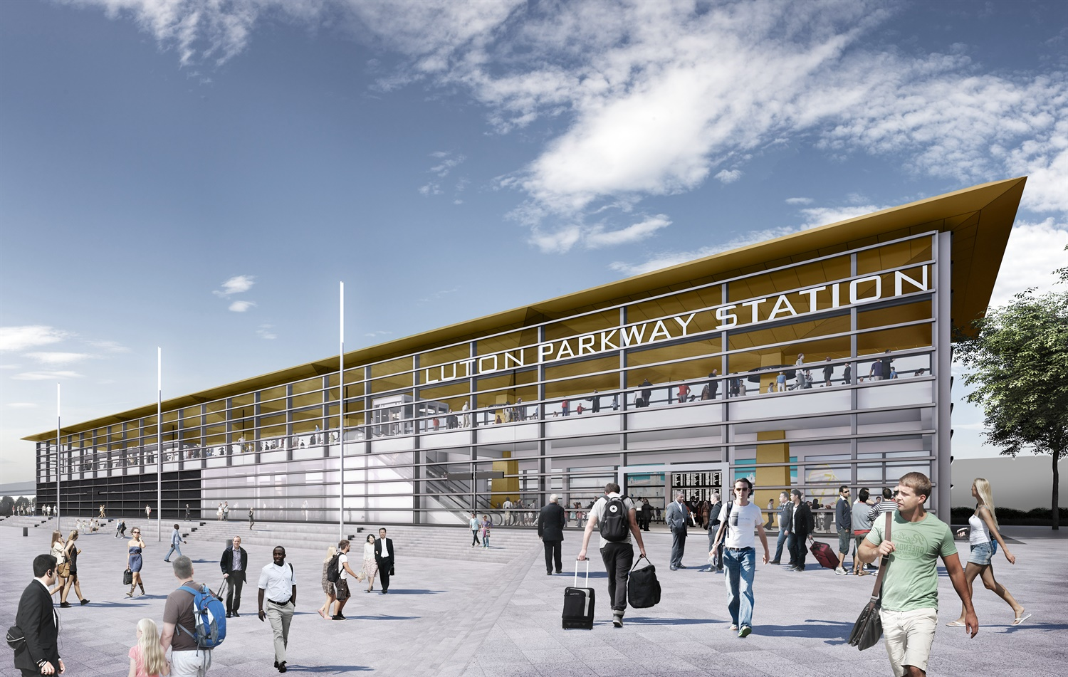 Construction begins on Luton Airport rail link