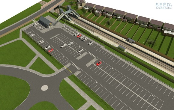 Work begins on new Maghull North station