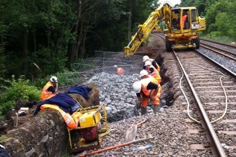 North East rail repairs complete