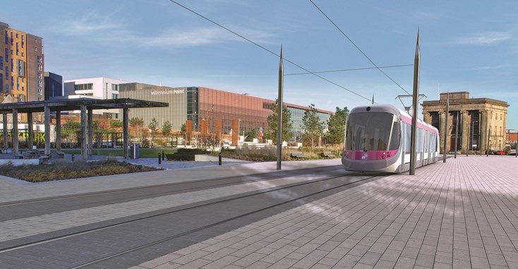 WMCA confirms £27.5m funding for new HS2 Curzon tram stop