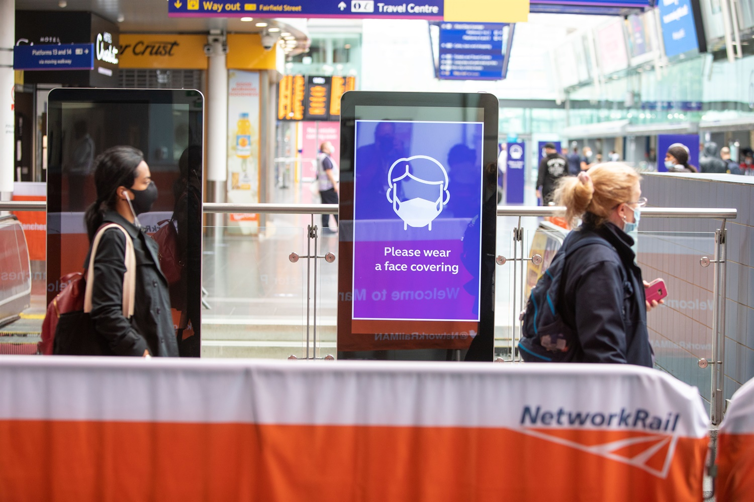 Network Rail introduces further safety measures as more passengers return