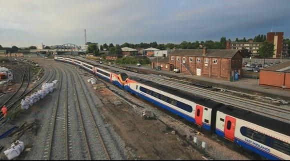 200m investment to upgrade railway in derby enters final week