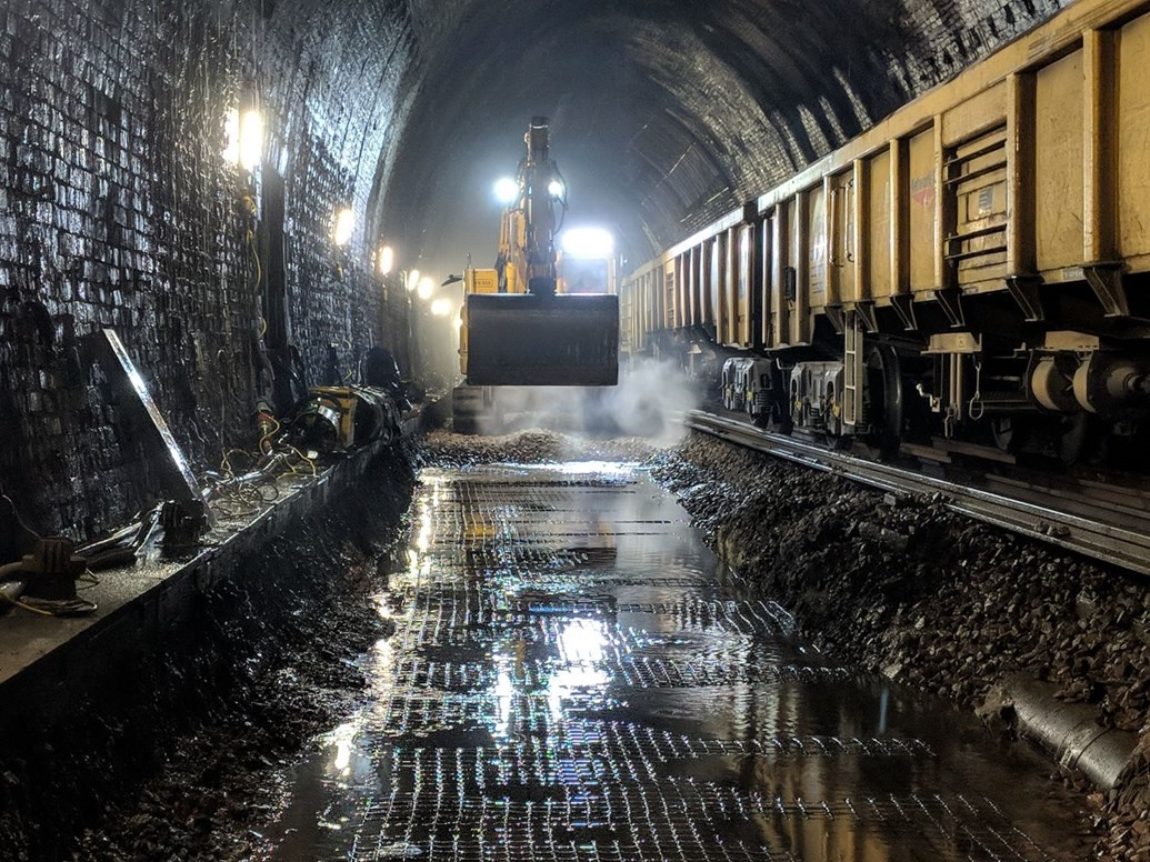 Major overhaul of one of country's longest tunnels sees delays fall by a fifth