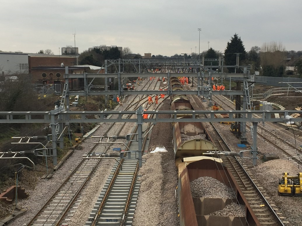 Network Rail unveils winners of 10-year contracts for £5bn rail system upgrades