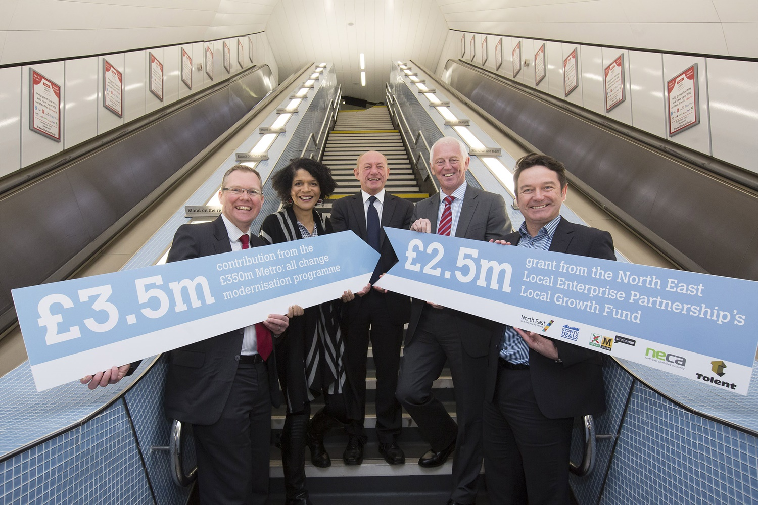 £6m Newcastle Central Metro station refurbishment complete