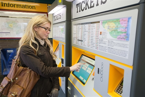 Nexus ticketing machine upgrade reaches halfway mark