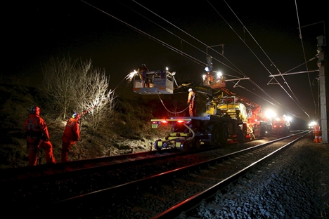 Balfour Beatty dropped from north west electrification