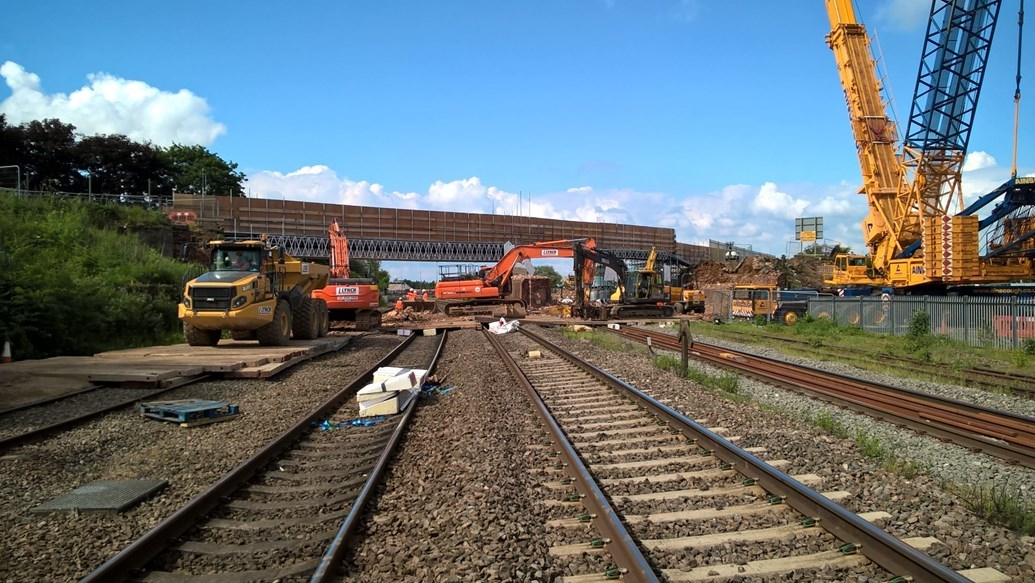 'Major milestone' in Northamptonshire railway upgrade reached