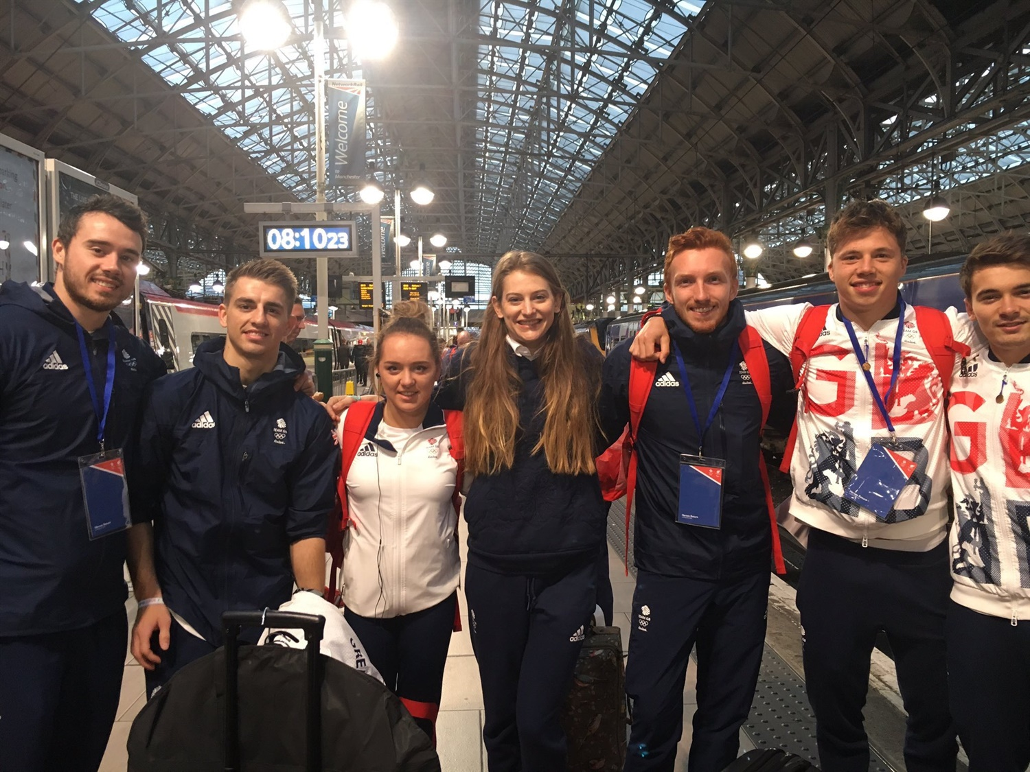 Rail industry honours Olympic heroes
