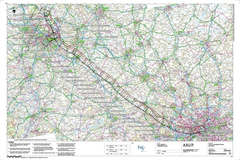 Greater compensation proposed for HS2