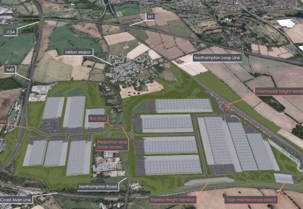 Rail Central proposals for controversial freight interchange submitted
