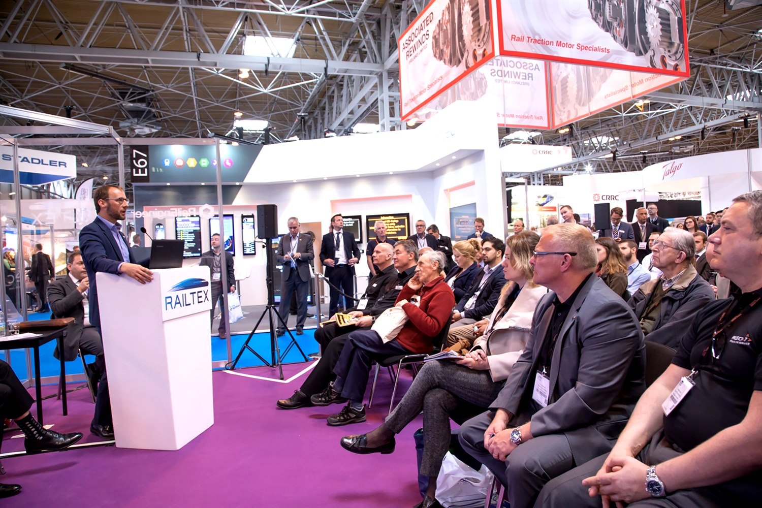 Railtex: putting rail in the spotlight