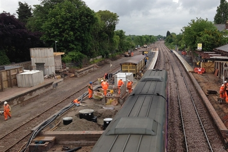 North west line closure for Northern Hub and electrification upgrade