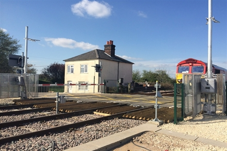 Network Rail upgrading level crossings in North Lincolnshire