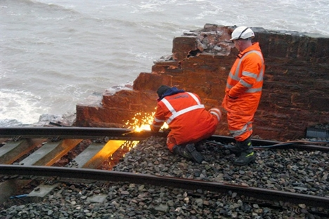 Severe weather brings further damage to rail network