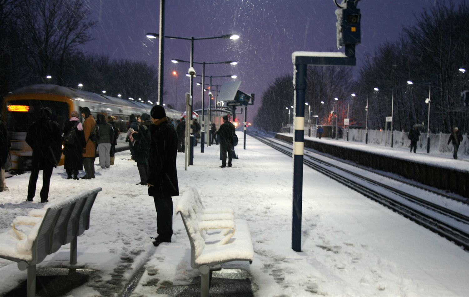 Concerns over TOC compensation payments as 'beast from the east' causes transport chaos