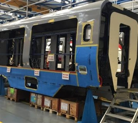 First Greater Anglia bodyshells roll off production line