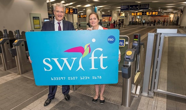 'Swift' smart card launch marks first multimodal ticket roll-out outside London